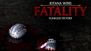 "MORTAL KOMBAT X · Kitana ""Dark Fan-Tasy"" Fatality [HD] 60fps 