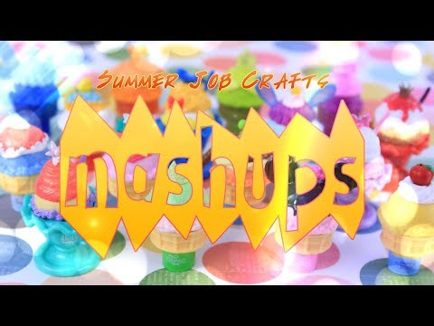 Mash Ups: Summer Job Doll Crafts | Froyo Shop | Lifeguard Tower | Lemonade Stand & More