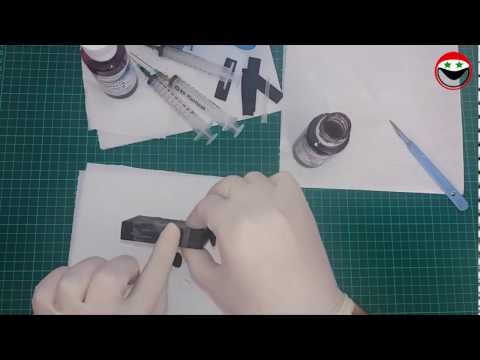 DIY - How to refill ink cartridges for HP Photosmart 6525