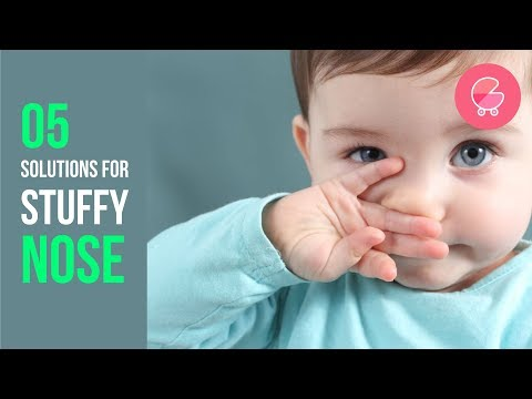How to relieve baby of stuffy nose | 5 easy tips | Babygogo
