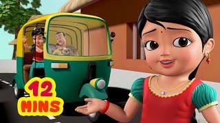 ஆட்டோ நண்பன் நானிருக்கேன்   Tamil Rhymes for Children   Infobells