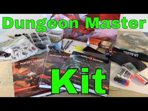 D&D (5): Dungeon Master Kit Workshop (Edited)