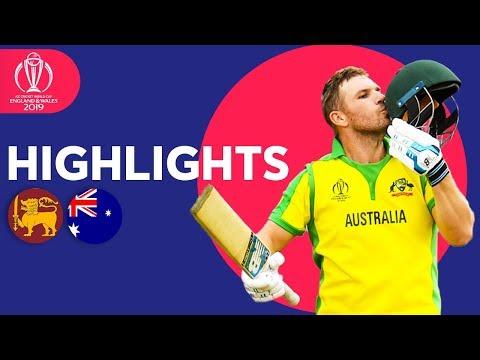 Xxx Mp4 Sri Lanka Vs Australia Match Highlights ICC Cricket World Cup 2019 3gp Sex