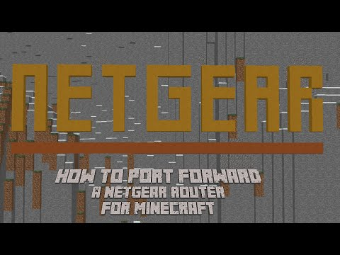 How To port Forward a Netgear router 2016