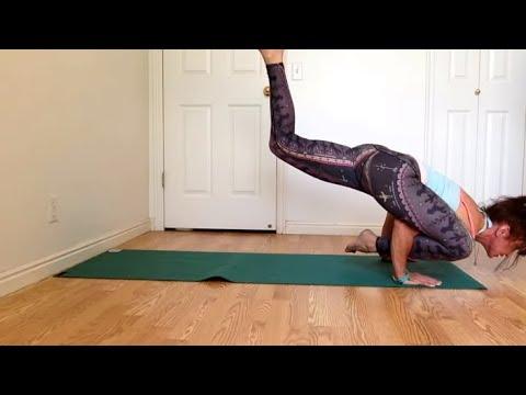 How To Do Flying Lizard Arm Balance Pose