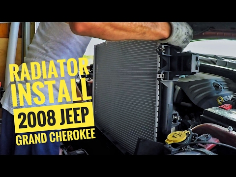 DIY/How to: Radiator Install for a 2008 Jeep Grand Cherokee with a 5.7L V8 Hemi