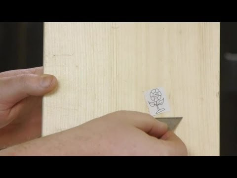 How to Remove a Sticker From Your Unfinished Wood : Woodworking Tips