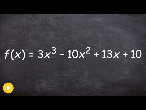 Determine the number of positive and negative real zeros of a polynomial