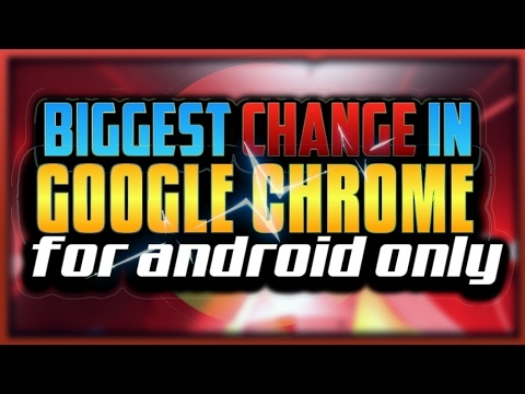 How to change address bar location in google chrome android