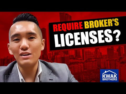 Do Real Estate Investors require Broker's Licenses?