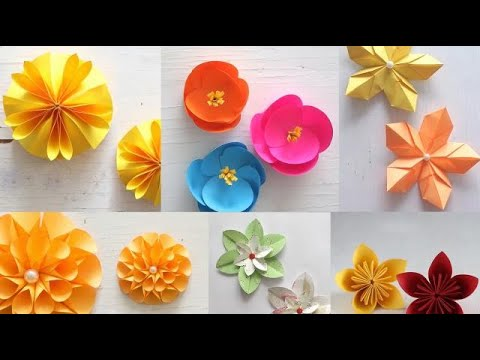 Top 10 DIY Paper Flowers of 2017 | Art All The Way