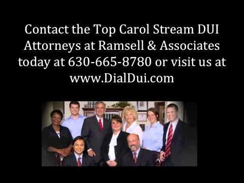 Carol Stream DUI Attorney | Illinois Lawyer