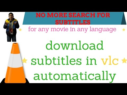 Download subtitles automatically in vlc without searching on google