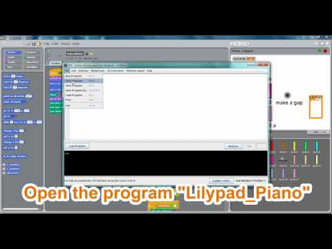 Tutorial for Scratch and JES (Lilypad Piano)
