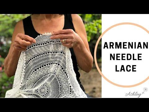 Needle Lace Design: Caterpillar