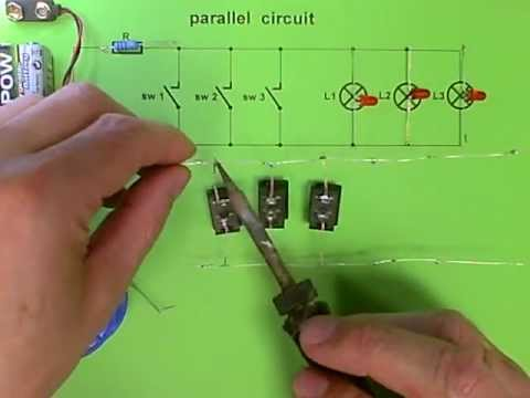 Parallel circuit - 3 LEDs