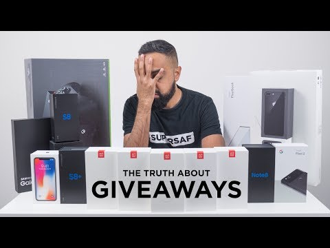 The TRUTH about GIVEAWAYS