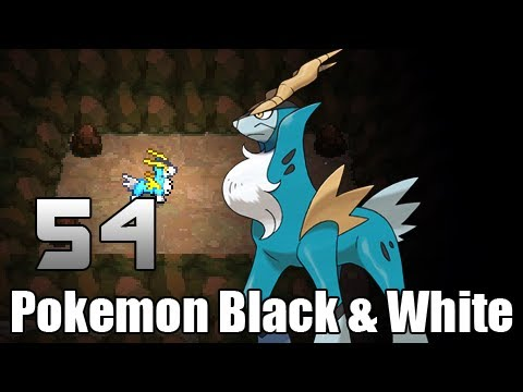 Pokémon Black & White - Episode 54-1 [Cobalion Battle]