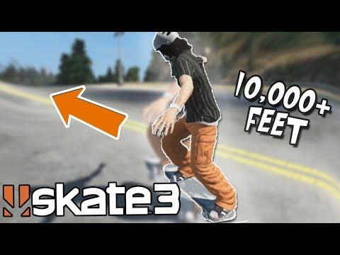 Skate 3: 10,000+ FOOT MANUAL CHALLENGE