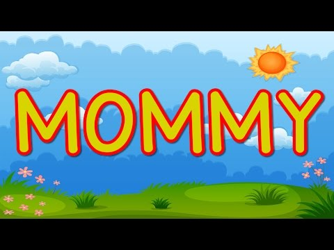 MOMMY   Happy Mother's Day   Kid's Song for Mother's Day   Jack Hartmann
