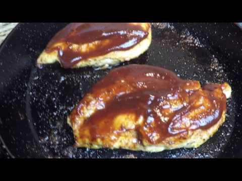 SKILLET BBQ BACON CHICKEN BREAST