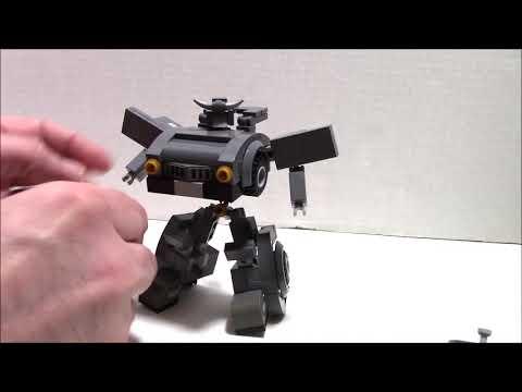 Lego Transformers WW2 Bumblebee AKA Nazi Buster Bumblebee by BWTMT Brickworks