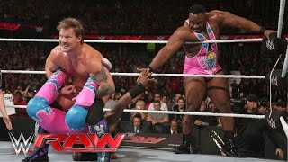 Chris Jericho & AJ Styles vs. The New Day - WWE Tag Team Championship Match: Raw, March 7, 2016