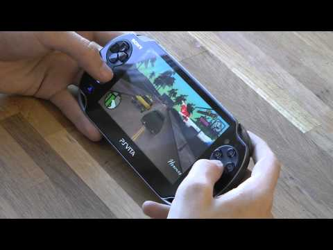 Grand Theft Auto Vice City For Sony PlayStation Vita Gameplay