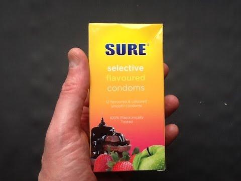 Review of Poundlands fruit flavoured condoms.