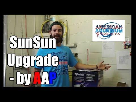 SunSun Canister Upgrade- Best Canister Filter | Custom SunSun Canister