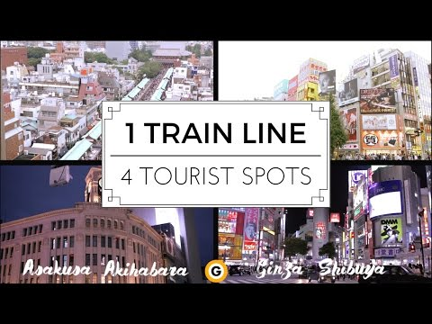 4 TOURIST SPOTS IN JUST ONE TRAIN LINE!