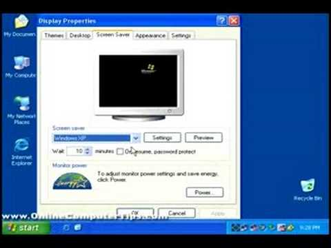 Customizing Your Windows XP Desktop
