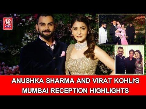 Xxx Mp4 Anushka Sharma And Virat Kohli 39 S Mumbai Reception Highlights V6 News 3gp Sex