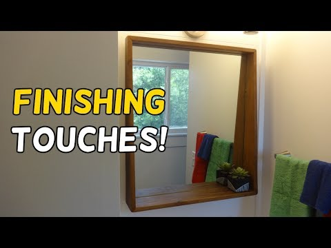 Finishing Up Our Bathroom Renovation!