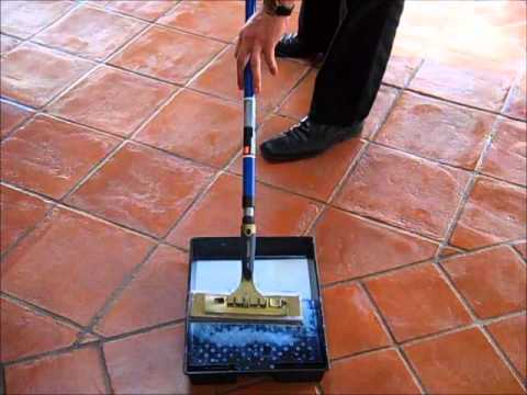 Terracotta floor Sealing with Tile Doctor Seal & Go