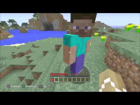 Minecraft PS3 First Look - (Single & Multiplayer)