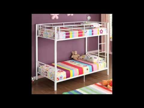 Bed Frames - Twin over Twin Bunk Bed; Twin Bed Guard Rails, Twin Bunk Bed Frame