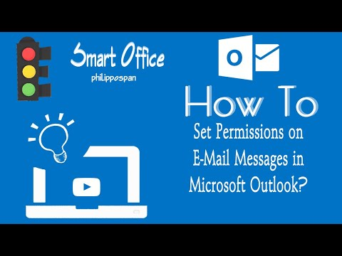 Set Permission on E-Mail Messages in Outlook 13