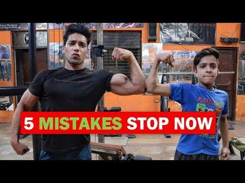 GET BIG BICEPS - 5 MISTAKE | How To Grow Bigger Biceps Hindi