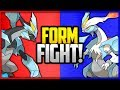 Kyurem: Black vs White   Pokémon Form Fight