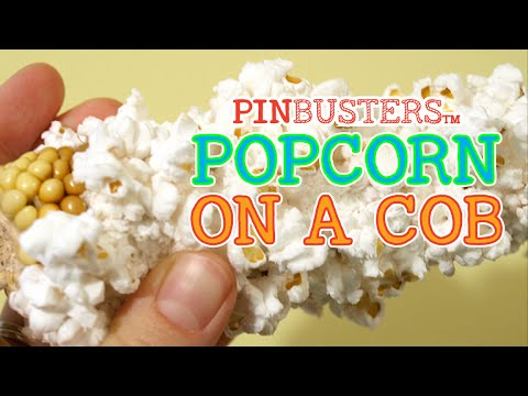 Can You Really Pop Corn On The Cob // WE TRIED IT, JUST FOR YOU!