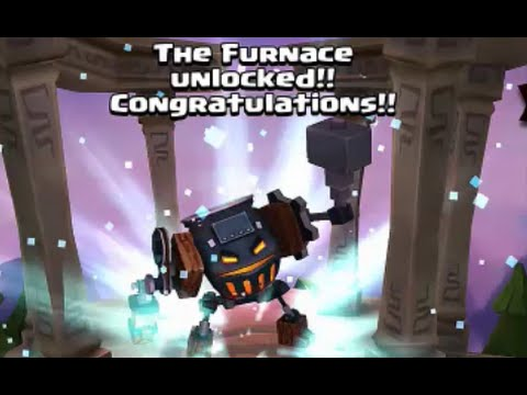 35 HEROIC ROLLS!! - FURNACE UNLOCK!! - Dungeon Boss