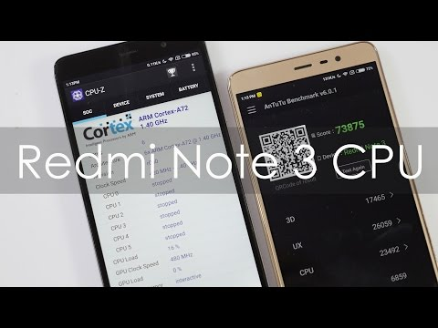Redmi Note 3 CPU Speed 1.8 Ghz or 1.4 Ghz Confusion Solved