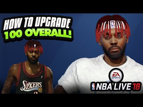 NBA LIVE 18 TUTORIAL! How To Upgrade Player To 100 Overall | Best Playstyle, Skills & Traits Combos
