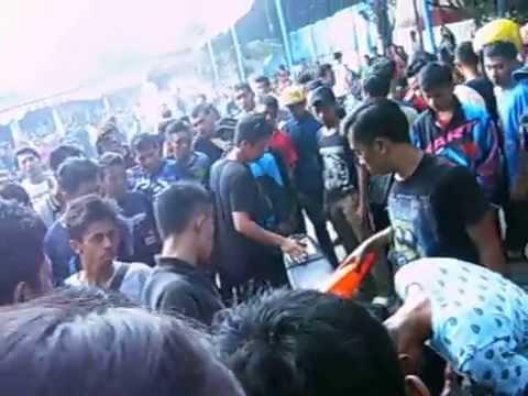 Dragbike Dragrace Sukoharjo Indonesia