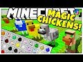 NEW MAGICAL CHICKENS MOD FTB SKY ADVENTURES MOD PACK SMP Feed The Beast 2
