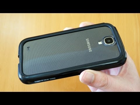 Samsung Galaxy S4 Bumper Case Review - id America Cushi Band