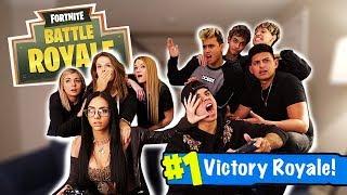 Girls Vs. Boys Fortnite Battle!