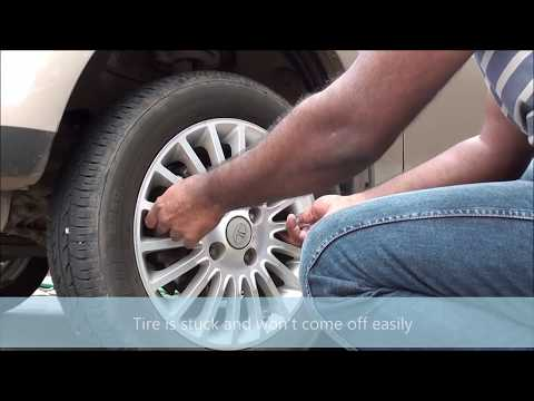 Learn the trick to remove a stuck tire in 2 minutes