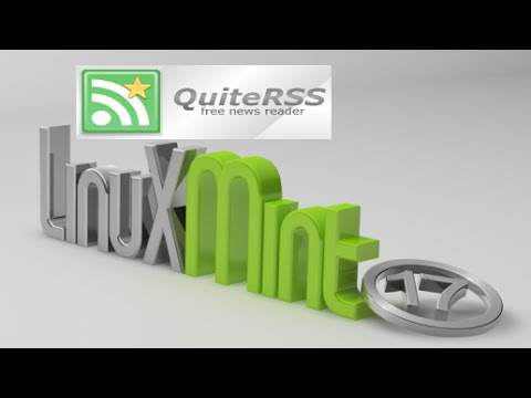 QuiteRSS : News Feed Reader For Linux Mint (Ubuntu)